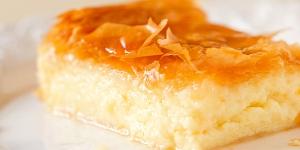 Custard Pie - Greek Style