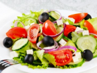 Fresh Healthy Greek Salad
