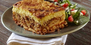Pastichio - Baked Mince Layered Pasta