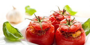 Stuffed Tomatoes or Peppers